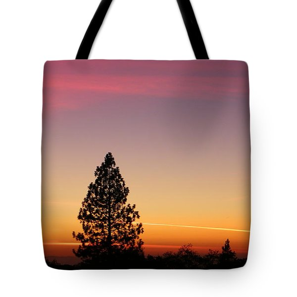 Orange And Pink Tote Bag