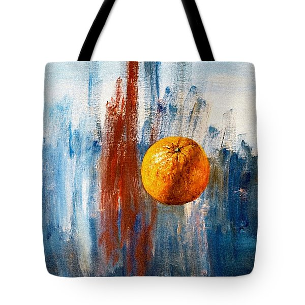 Orange Tote Bag by Arturas Slapsys
