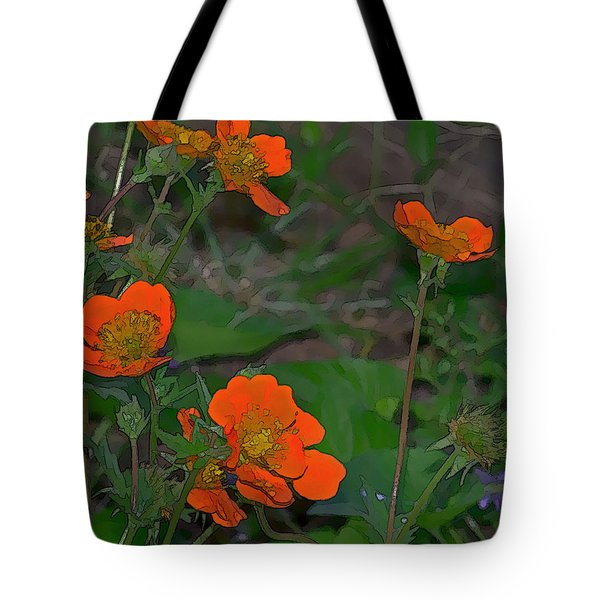 Orange Beauties Tote Bag