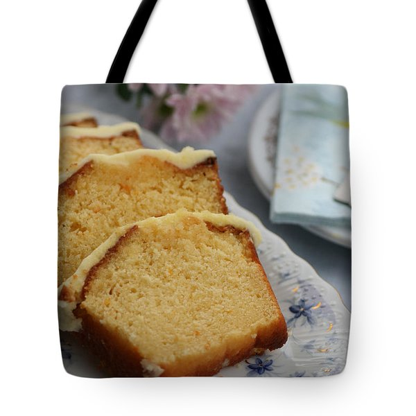 Orange Cake Tote Bag