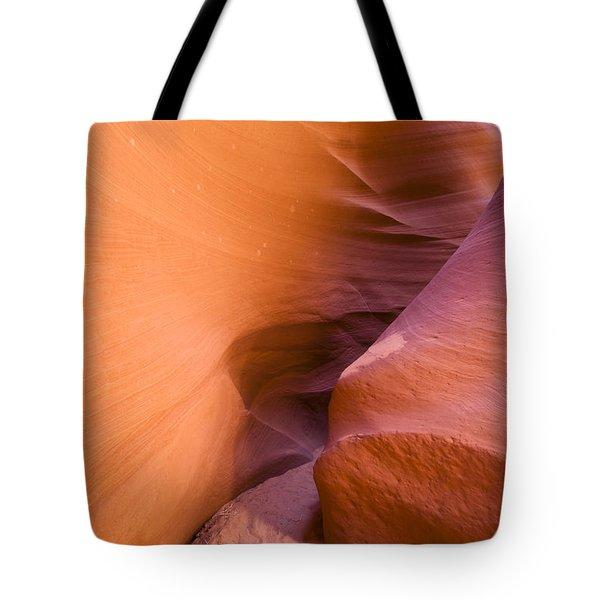 Orange Canyon Tote Bag