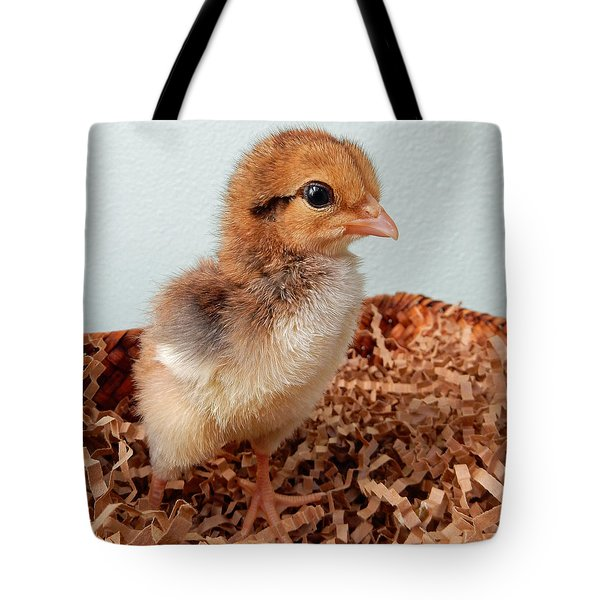 Orange Chick Tote Bag