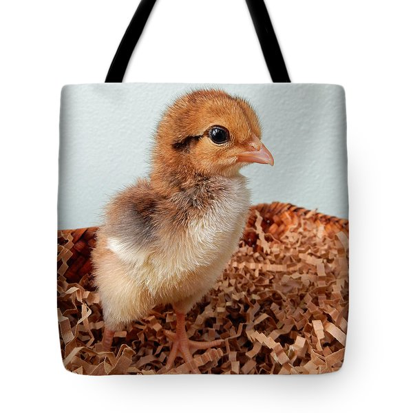 Orange Chick Tote Bag