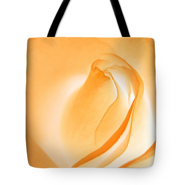Tote Bag featuring the photograph Orange Cream Rose by Chris Anderson