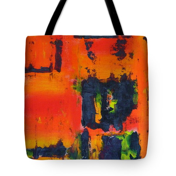 Orange Day Tote Bag
