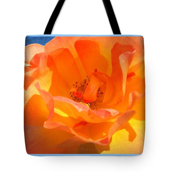 Tote Bag featuring the photograph Orange Delight by Brooks Garten Hauschild