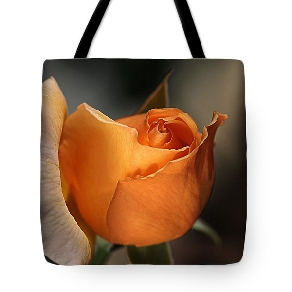 Tote Bag featuring the photograph Orange Mood by Joy Watson
