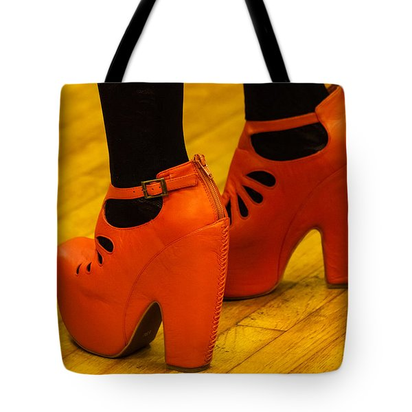 Orange Pair Tote Bag