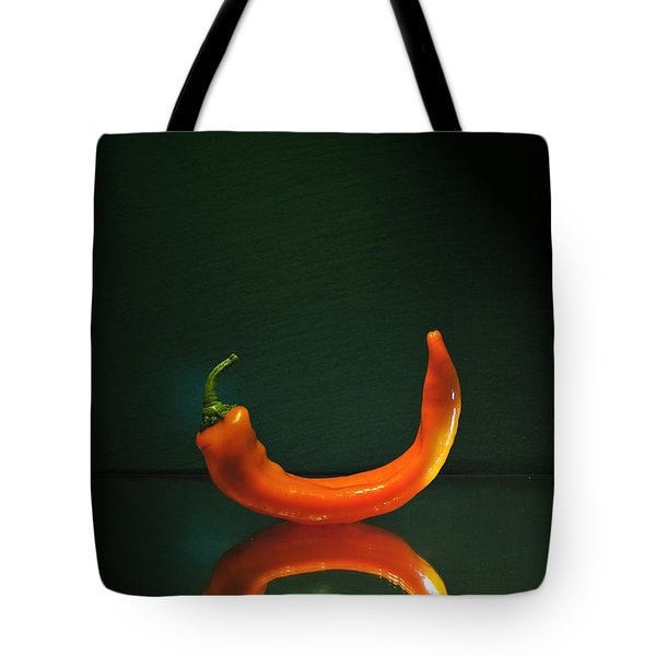 Orange Pepper Tote Bag