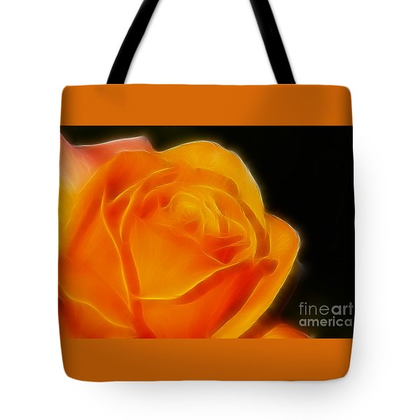Orange Rose 6308 Tote Bag by Gary Gingrich Galleries