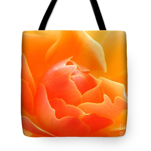Orange Sherbet Tote Bag
