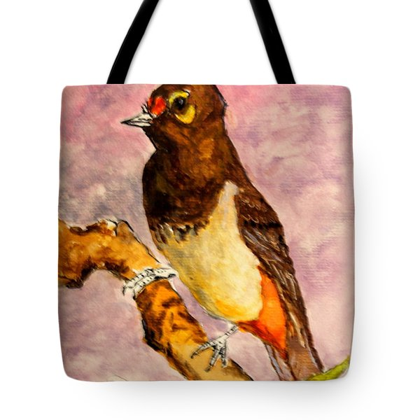 Orange-spotted Bulbul Tote Bag