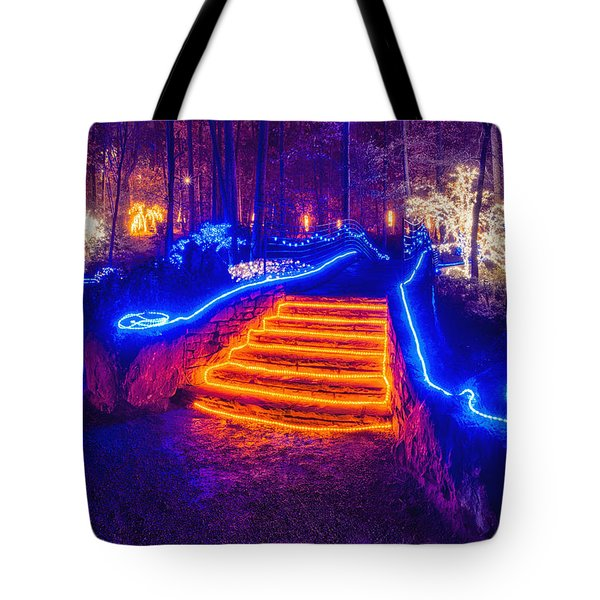 Orange Steps Tote Bag