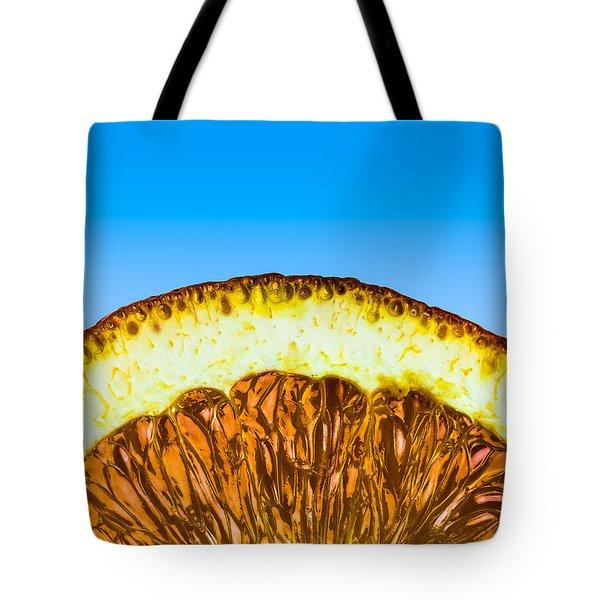 Orange Sunrise Tote Bag by Alexander Senin