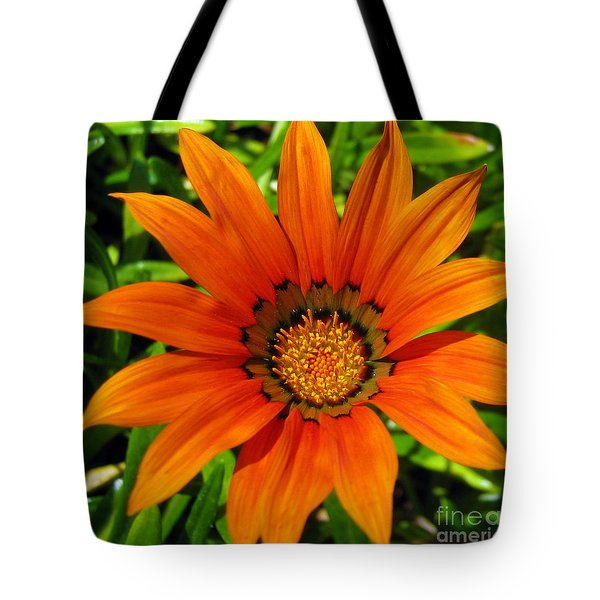 Tote Bag featuring the photograph Orange Sunshine by Janice Westerberg