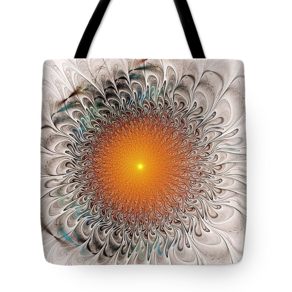 Orange Zone Tote Bag