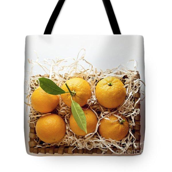 Oranges Tote Bag
