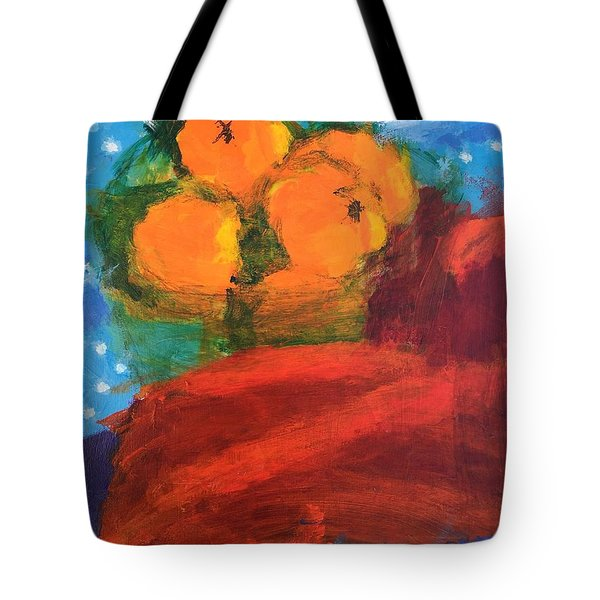 Oranges Tote Bag by Donald J Ryker III
