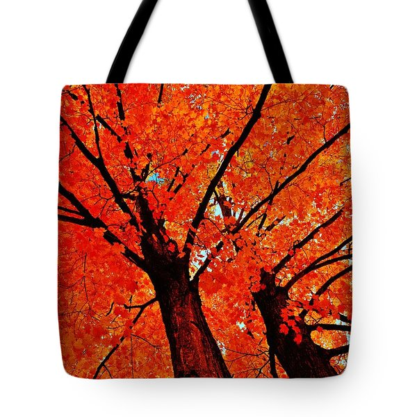 Orange...the New Green Tote Bag