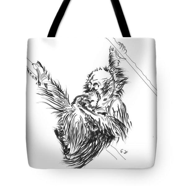 Orangutan Baby 2 Tote Bag