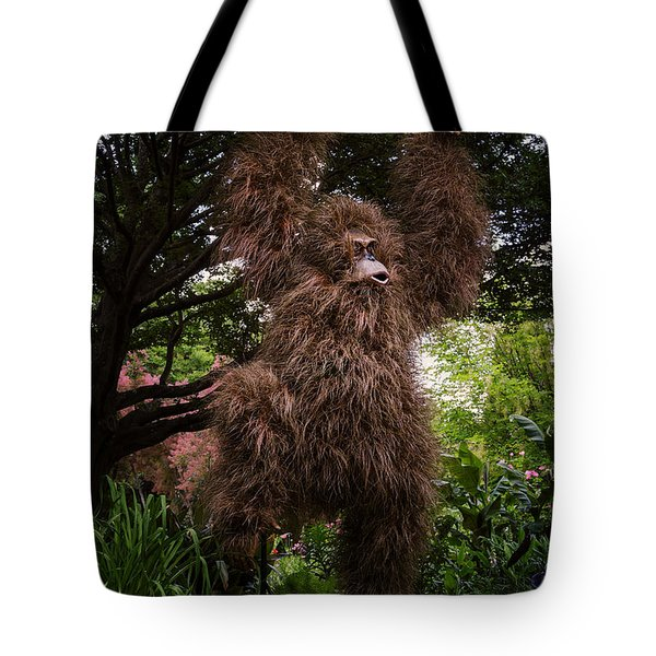 Orangutan Tote Bag by Joan Carroll