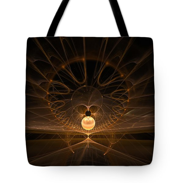 Tote Bag featuring the digital art Orb by GJ Blackman