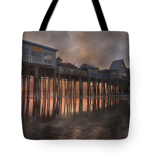 Orchard Beach Glorious Morning Tote Bag