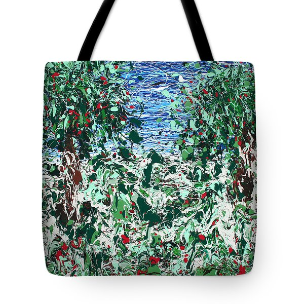Orchard Number Five Tote Bag by Ric Bascobert