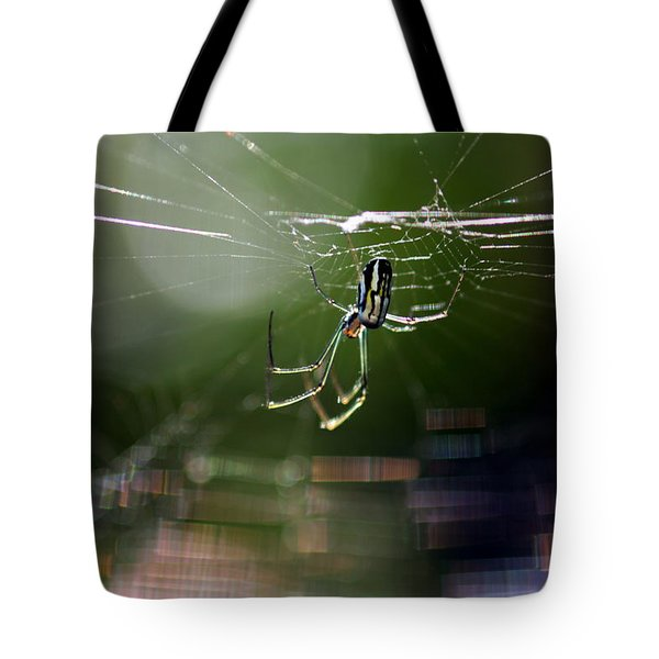 Orchard Web Tote Bag