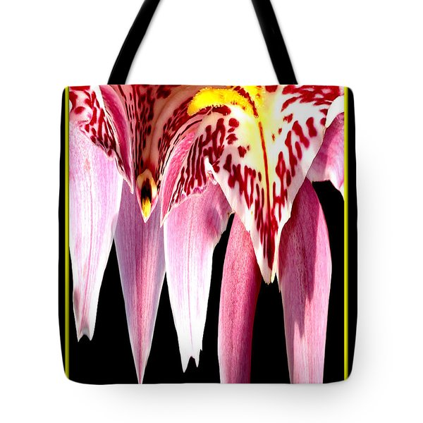Orchid Abstract Tote Bag by Rose Santuci-Sofranko