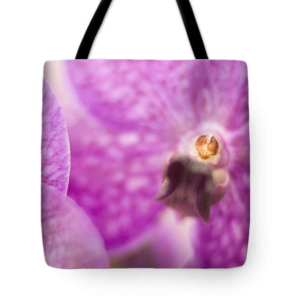 Orchid Tote Bag by Bradley R Youngberg