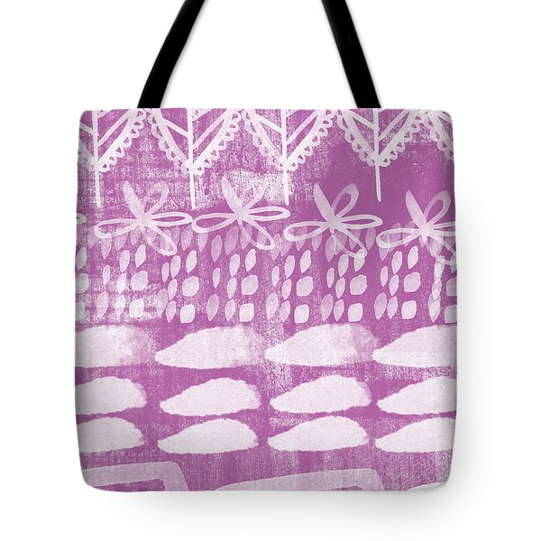 Orchid Fields Tote Bag
