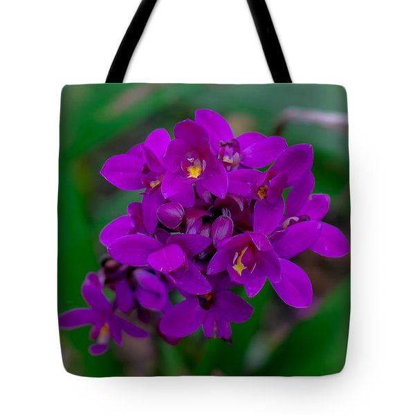Orchid In Motion Tote Bag