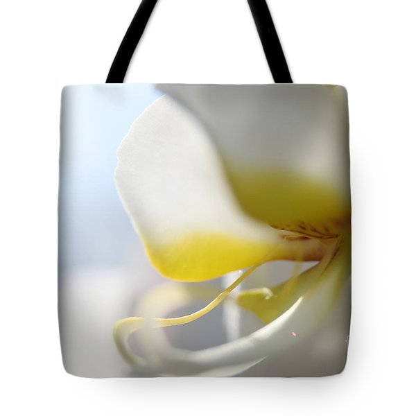 Orchid Melody  Tote Bag by Neal Eslinger
