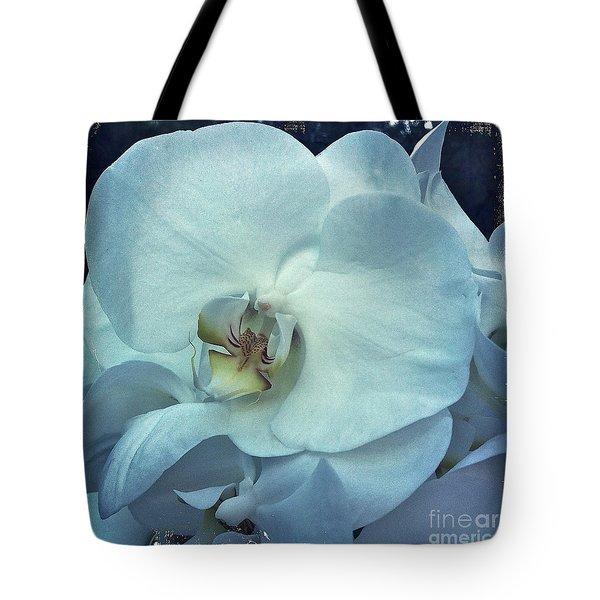 Orchid Tote Bag by Nina Prommer
