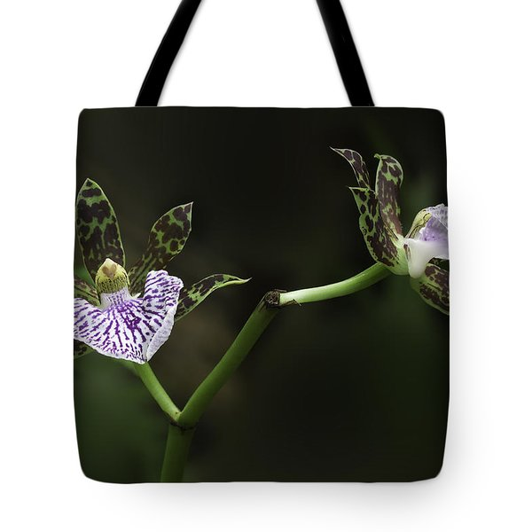 Tote Bag featuring the photograph Orchid by Ram Vasudev