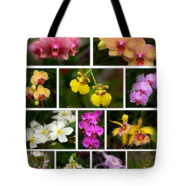 Orchid Sampler Tote Bag