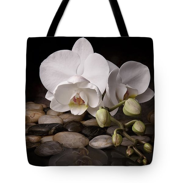 Orchid - Sensuous Virtue Tote Bag by Tom Mc Nemar