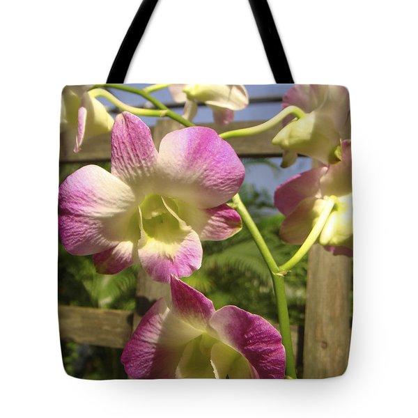 Orchid Splendor Tote Bag
