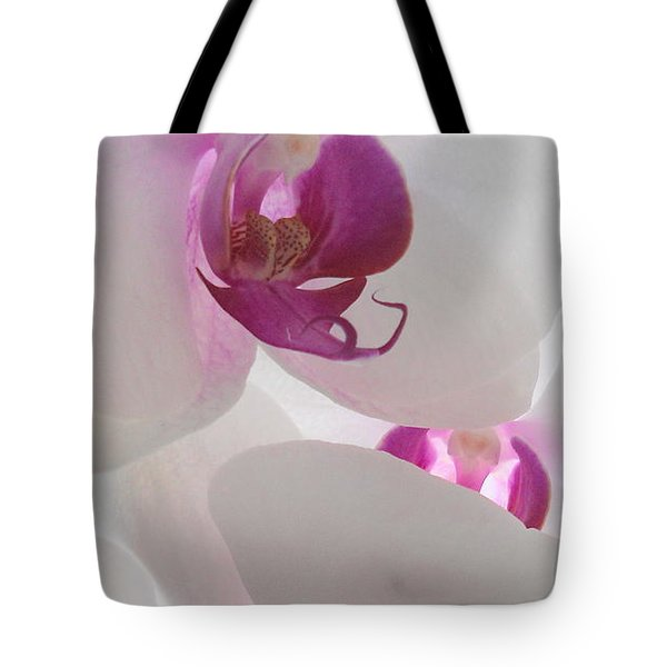 Orchid Trio Tote Bag by Kathy Spall
