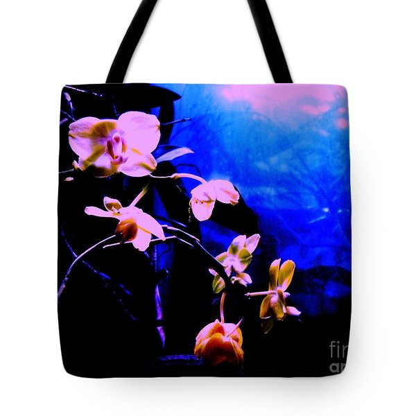 Orchidia Tote Bag by Vanessa Palomino