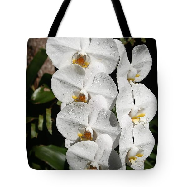 Orchids Anna Tote Bag by The Art of Alice Terrill