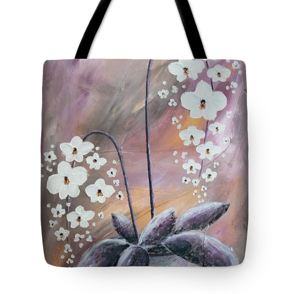 Orchids Tote Bag by Home Art