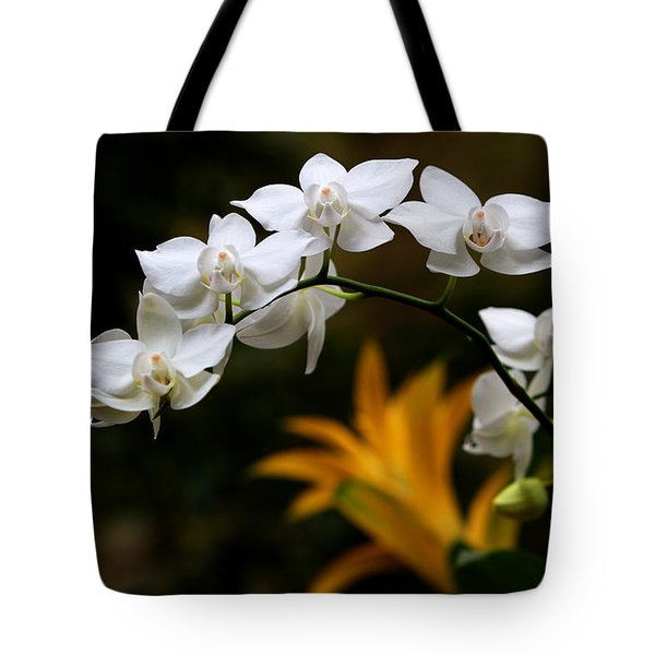 Orchids Tote Bag by John Freidenberg