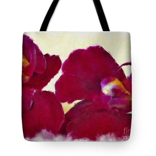 Orchids No. 4 Tote Bag