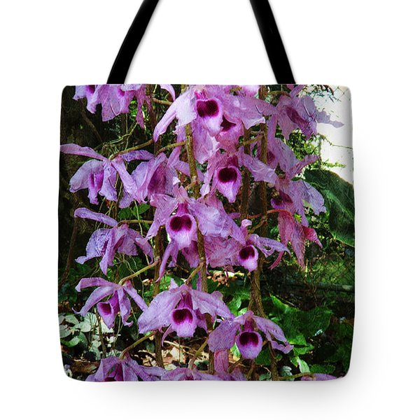 Orchids In The Spring Tote Bag