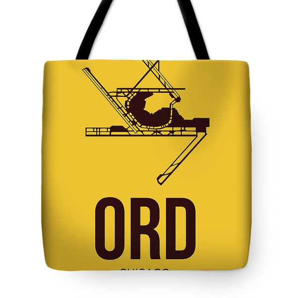 Ord Chicago Airport Poster 1 Tote Bag