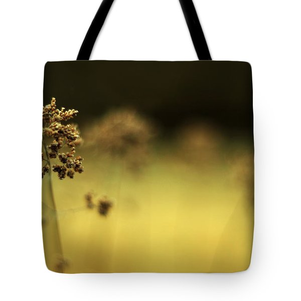 Tote Bag featuring the photograph Oregano Winter Warmth by Rebecca Sherman