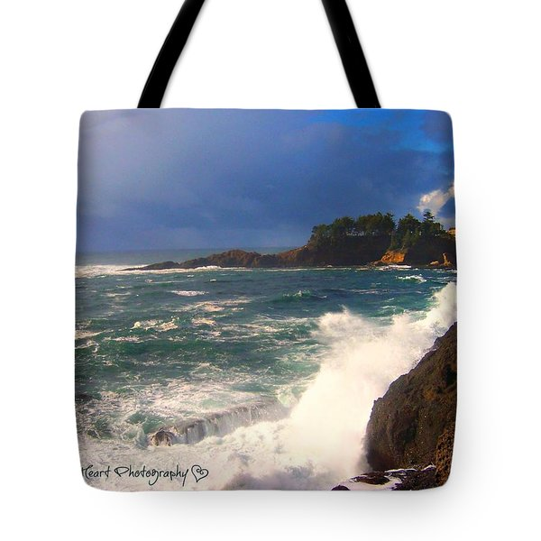 Oregon Coast 9 Tote Bag