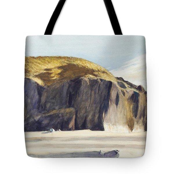 Oregon Coast Tote Bag by Edward Hopper